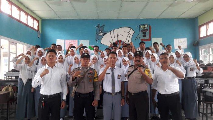 Hindari Provokasi Turun ke Jalan, Polres Tanjungpinang Beri Himbauan ke Pelajar