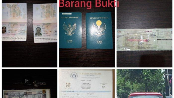 POLSEK KKP BATAM - Polsek KKP menggagalkan keberangkatan Pekerja Migran Indonesia (PMI) ilegal di Pelabuhan Batam Center, Sabtu (24/10).