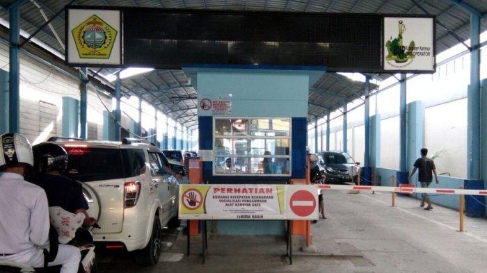 Setelah Dipasang Portal Gate di Pelabuhan Pemasukan BUP Karimun Jadi Rp 1 Juta per Hari