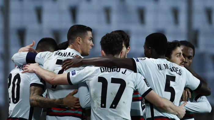 Hasil Luksemburg vs Portugal, Cristiano Ronaldo Cetak Gol, Portugal Menang