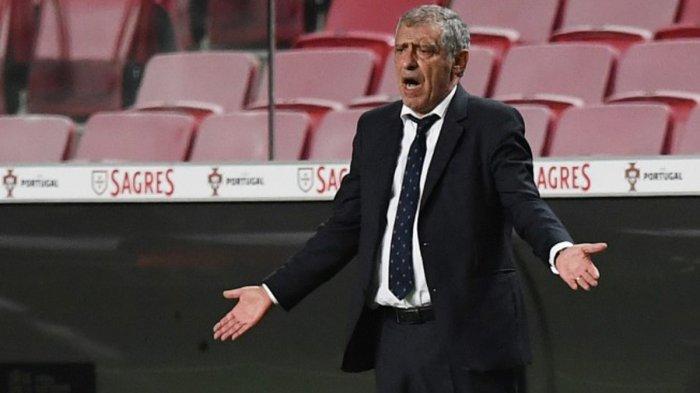 Timnas Portugal Kalah di UEFA Nations League, Fernando Santos: Bukan Karena Diogo Jota Tidak Starter