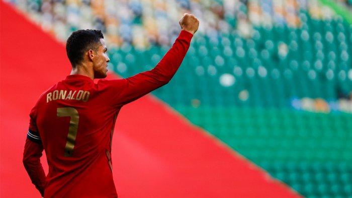 Hasil Portugal vs Israel, Bruno Fernandes 2 Gol, Cristiano Ronaldo 1 Gol, Portugal Pesta Gol