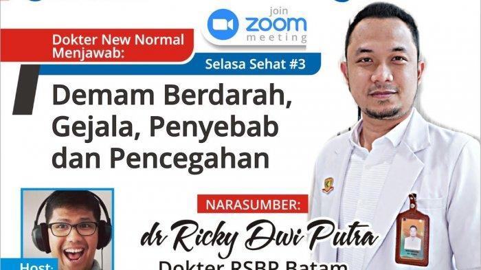 Selasa Sehat bareng dr Ricky, Kupas Tuntas Soal DBD, Bagaimana Gejala dan Cara Mengatasinya?