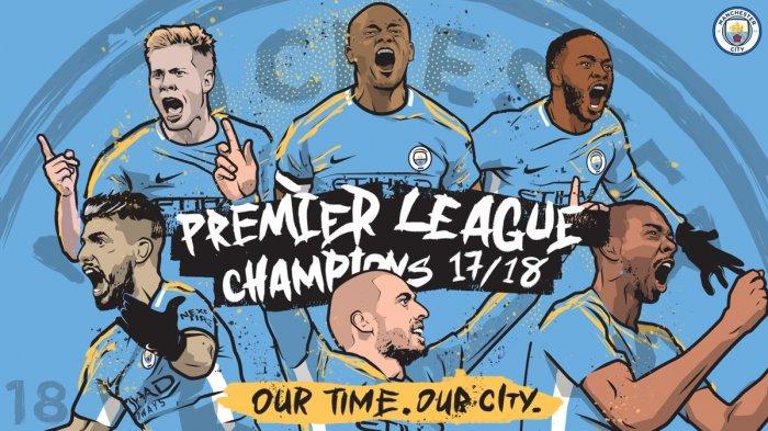Tak Hanya Juara Liga, Manchester City Juga Cetak Banyak Rekor di Musim Ini