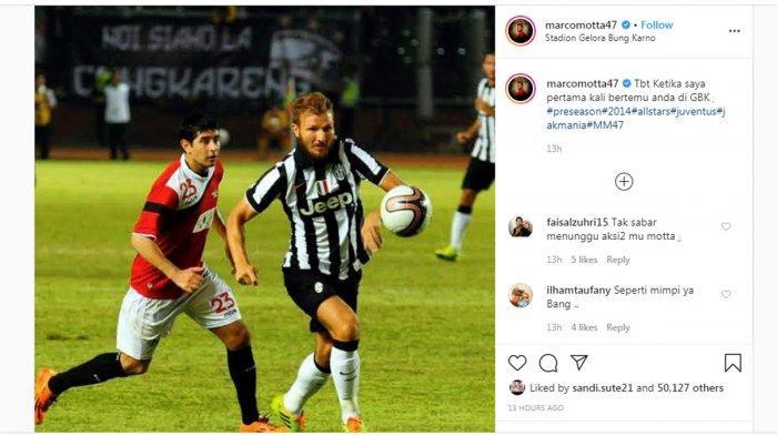 BERITA PERSIJA - Marco Motta Posting Foto Kenangan Saat Pertama ke Indonesia, Ada Esteban Vizcarra