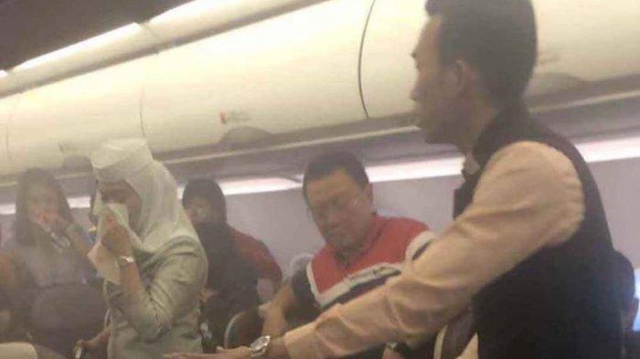 VIDEO VIRAL. Penumpang Royal Brunei Airlines Panik, Power Bank Meledak Saat Terbang
