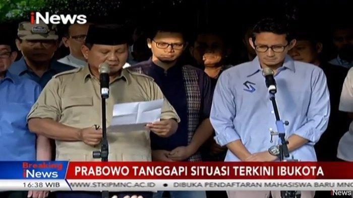 Prabowo Tunjuk Sosok Ini agar Menang Gugatan Pilpres, Terungkap Jadwal Daftar Gugatan ke MK