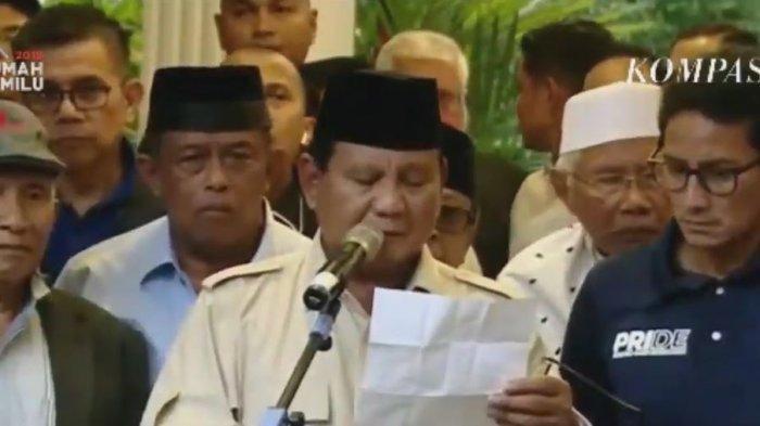 Tak Temani Prabowo Subianto, Sandiaga Uno Sholat Jumat Bersama Anak Lelakinya