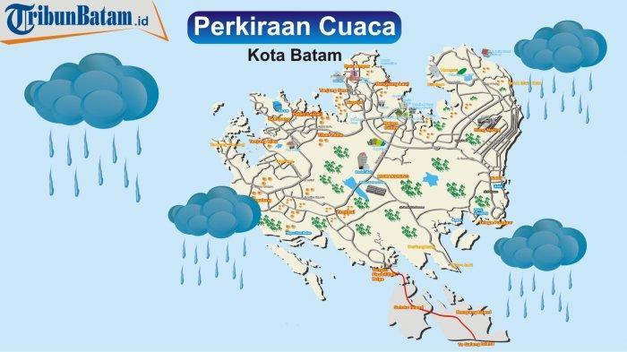 Prakiraan Cuaca dari BMKG Hari Ini, Cerah Berawan Hingga Hujan Lokal di Sejumlah Wilayah Kepri