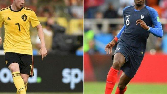 Jadwal Semifinal Piala Dunia 2018. Perancis vs Belgia Rabu Dinihari WIB