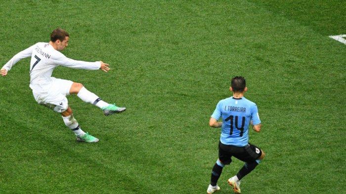 Ini Alasan Antoine Griezmann Tidak Berselebrasi Usai Cetak Gol ke Gawang Uruguay