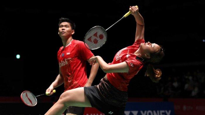 BWF World Tour Finals 2019 - Kalah, Perjalanan Duo Ganda Campuran Indonesia Berakhir