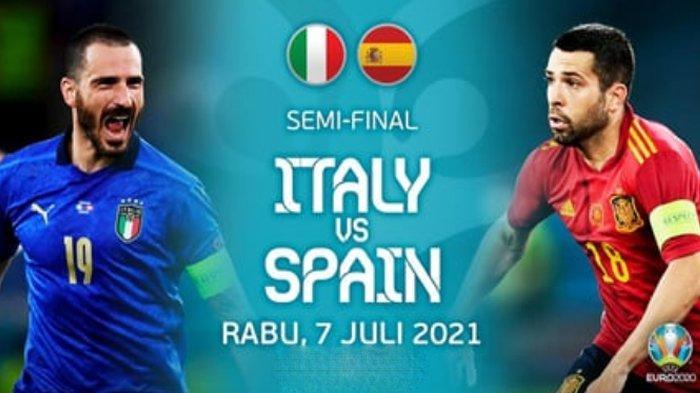 Prediksi Italia vs Spanyol di Semifinal EURO 2020 Malam Ini, Gli Azzurri Catat Rekor Buruk