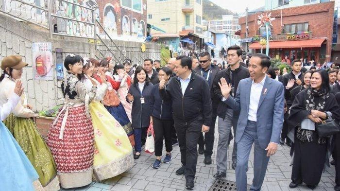 Dikunjungi Jokowi dan Iriana, Jelajahi Desa Budaya Gamcheon di Korea Selatan