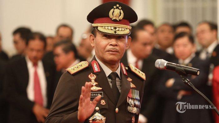 Setelah Dilantik Jokowi Menjadi Kapolri, Idham Aziz Langsung Kunjungi Panglima TNI