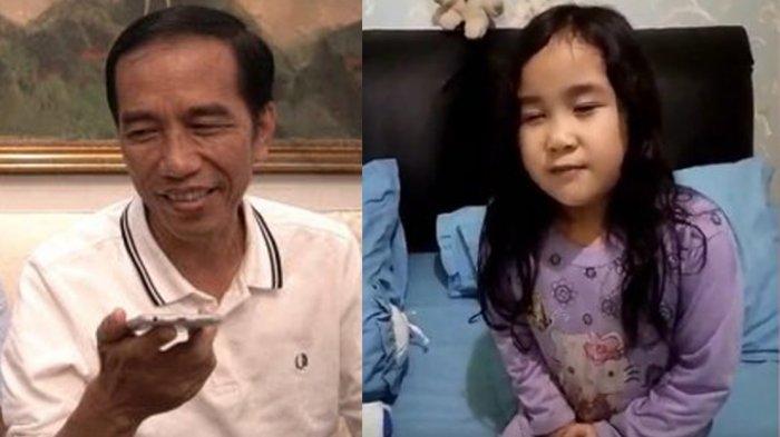 Seperti Ini Percakapan Neisha Saat Ditelepon Presiden Jokowi