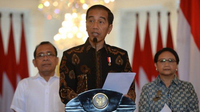 Tanggapi Aksi Demonstran, Presiden Jokowi Tolak Tuntutan Mahasiswa Cabut UU KPK