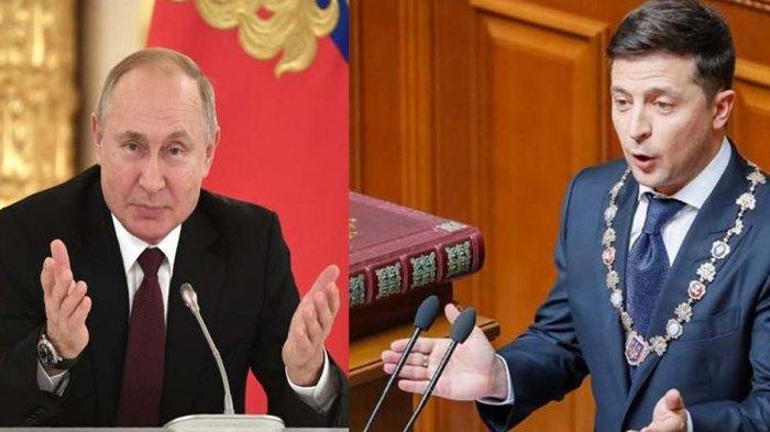 Polemik Perbatasan Rusia dengan Ukraina Potensi Picu Perang Dunia ke-3, Amerika Siapkan Jet Tempur
