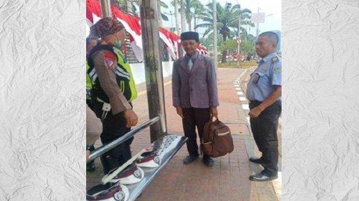 NgakuPresiden RIyang Mau Dilantik, Pria IniMinta Pengawalan ke Polisi