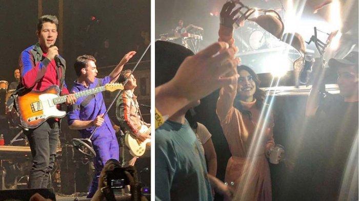 Diisukan Bercerai, Priyanka Chopra Kibarkan Bra di Konser Suaminya dan Siapkan langkah Hukum