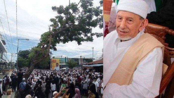 Innalillahi Wainnailaihi Rajiun, Habib Saggaf Al Jufri Wafat Ribuan Orang Ikut Salatkan Jenazah
