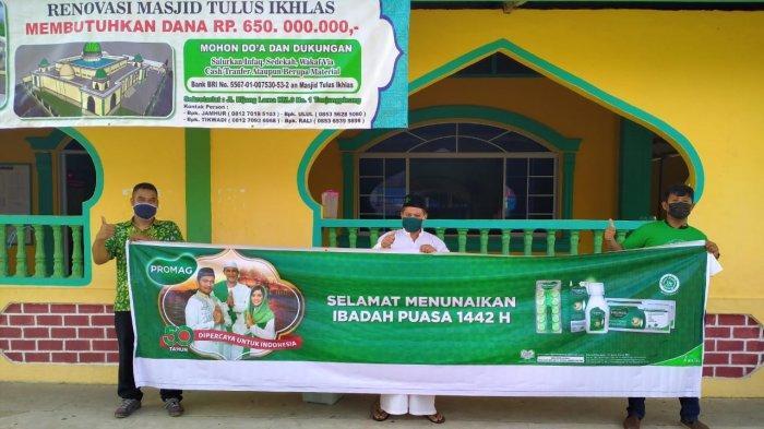 Promag Gelar Program Bersih-bersih Masjid dan Bagikan Disinfektan Selama Ramadhan