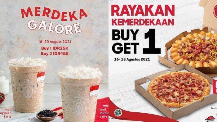 PROMO Kuliner Hari Kemerdekaan RI pada Selasa (17/8): KFC, Pizza Hut, Roti O, Starbucks hingga McD