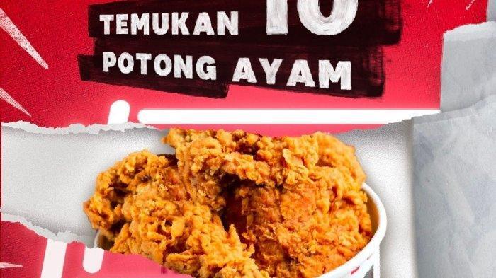Promo KFC Hari Kamis 8 Juli 2021, Beli 10 Potong Ayam Hanya Rp 90 Ribu, Ada Promo Super Besar 2