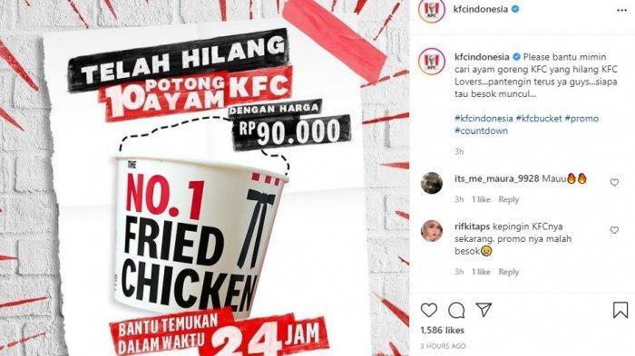 Promo KFC Spesial di Setiap Hari Kamis