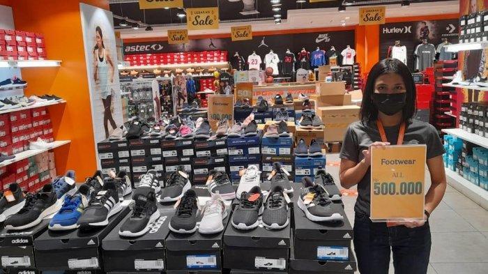 PROMO Sport Station Batam, Harga Sepatu Olahraga Brand Ternama Mulai Rp 100 Ribu