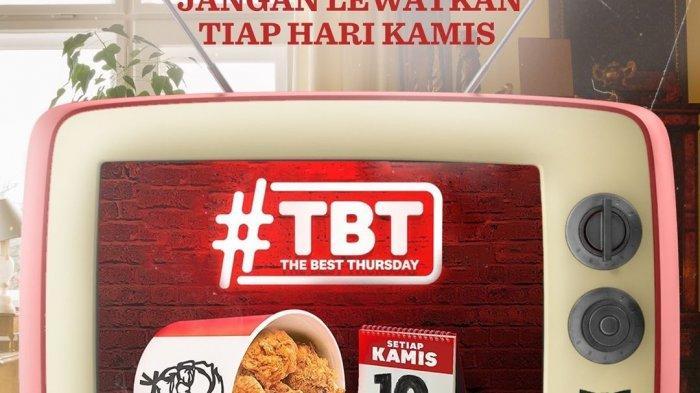 Promo KFC Spesial Setiap Hari Kamis, 17 Juni 2021, Beli 10 Daging Ayam Cuma Rp 90 Ribu