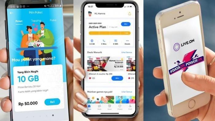 Daftar Harga Paket Internet 3 Provider Digital Indonesia, Pakai By.U Rp 10 Ribu Dapat 10 GB