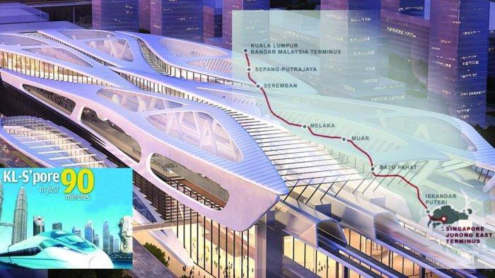 Proyek Kereta Cepat Singapura - Malaysia Batal Terwujud, Malaysia Harus Bayar Kompensasi