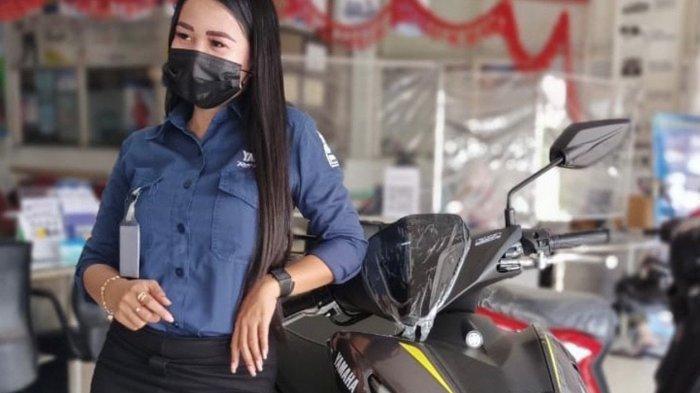 Promo Maret Meriah, Beli Yamaha Aerox Dapat Diskon di PT Yamaha Alfa Scorpii. Foto Yamaha Aerox 155 VVA.