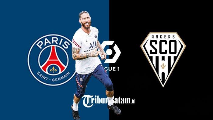 PSG vs Angers Live beIN Sport 2 Pukul 02.00 WIB, Lionel Messi Absen, Sergio Ramos Debut