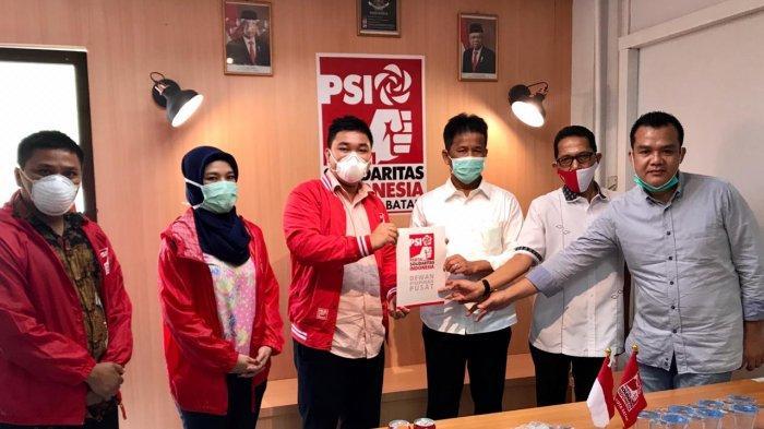 Dukungan Petahana Bertambah, PSI Mantap Dukung Muhammad Rudi-Amsakar Achmad di Pilwako Batam