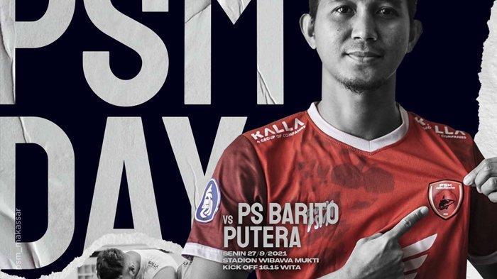 PSM vs Barito Putera Live O Channel 15.15 WIB, Seslija: Kita Siapkan Tim Seperti Mau Perang