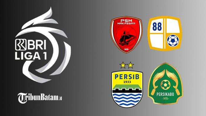 Jadwal BRI Liga 1 Pekan 5: PSM vs Barito Putra, Persikabo vs Persib, Persija vs Persita