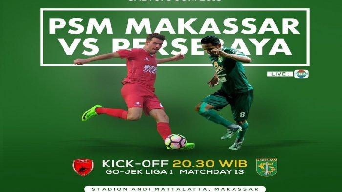 Jadwal Liga 1 2019 Hari Ini, Semen Padang vs Bhayangkara FC, PSM vs Persebaya di Makassar