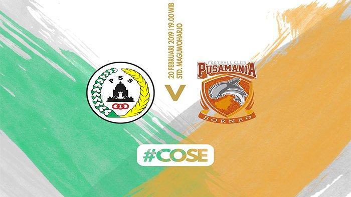 Siaran Langsung PSS Sleman vs Borneo FC Piala Indonesia Live PSSI TV, Rabu (20/2) Mulai 19.00 WIB