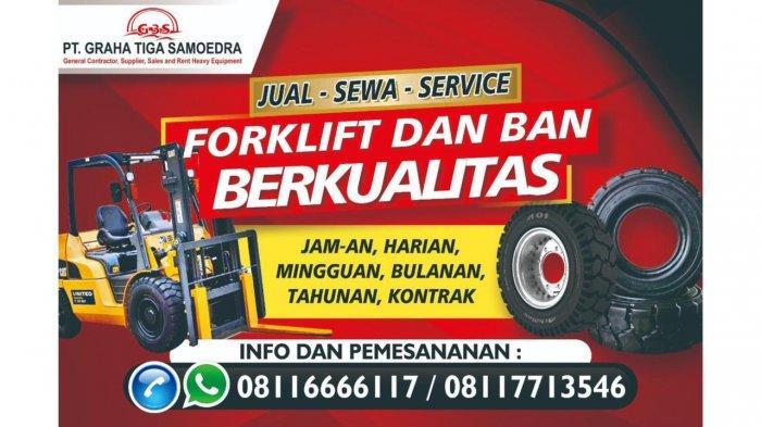 Layani Beli dan Sewa Forklift, PT Graha Tiga Samoedra Jadi Solusi Kebutuhan Alat Berat di Batam