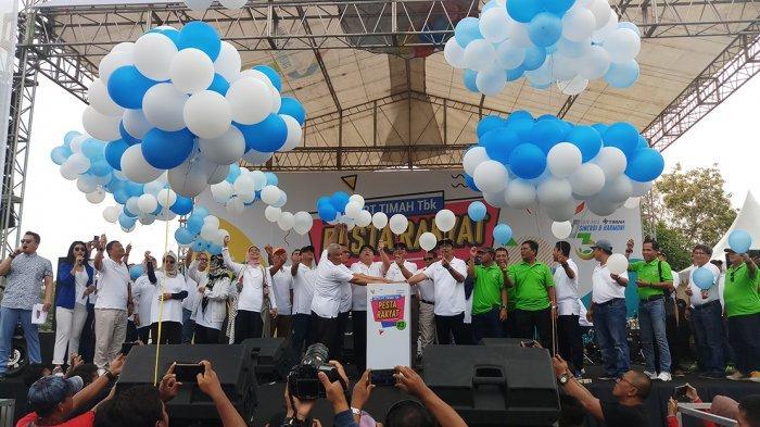 Ulang Tahun ke-43, PT Timah Tbk Gelar Pesta Rakyat, Intip Kemeriahannya