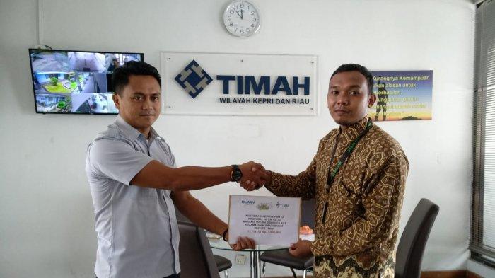 PT Timah Kucurkan Dana Puluhan Juta Untuk Lima Desa di Tanjungbalai Karimun