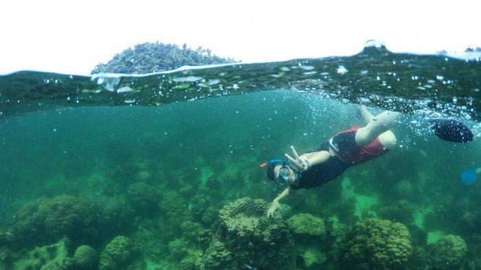 Objek Wisata Pulau Abang Batam Bak Surga di Dasar Laut