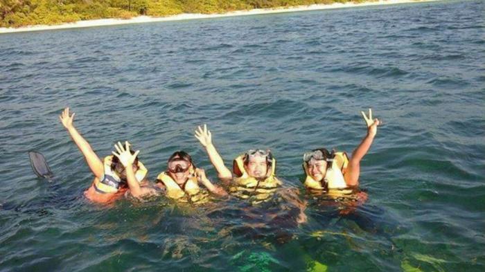 Paket Snorkeling di Pulau Beralas Pasir hanya Rp 600 Ribuan