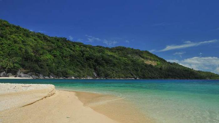 Pulau Telaga di Anambas
