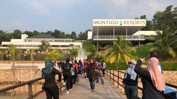 Jembatan yang Roboh di Montigo Resort Nongsa Jadi Tempat Favorit Untuk Berfoto