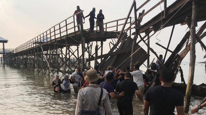 Polisi Bakal Gandeng Ahli Teknik Jembatan Terkait Ambruknya Jembatan Montigo Resorts Batam