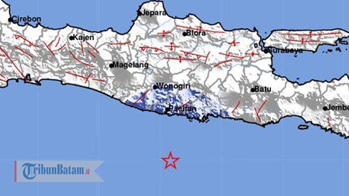 BMKG: Gempa Pacitan 5,2 SR Terasa hingga Kendal dan Gunungkidul, Tidak Berpotensi Tsunami