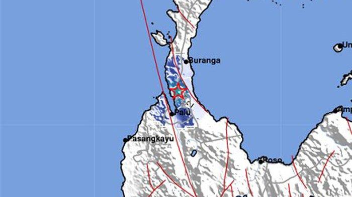 INFO GEMPA HARI INI - Gempa Magnitudo 3,9 Guncang Palu Senin Pagi Jam 06.03 WIB. Berikut Info BMKG